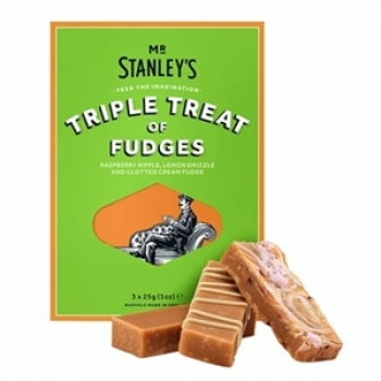 Mr. Stanley's Triple Treat of Fudge 180g