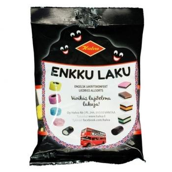 Halva Enkku Laku finnischer London Lakritz Konfekt mix 240 g