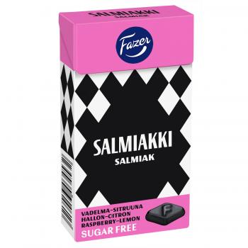 Fazer Salmiakki Raspberry Lemon 40 g