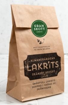 Almaregårdens Lakritz Granskott (Lakritz mit Fichtenspitzen) 150g