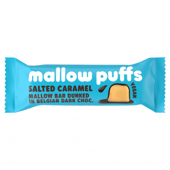 Mallow Puffs Vegane Marshmallow Salted Caramel Bar 30 g