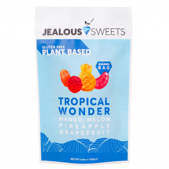Jealous Sweets Vegan Fruit Gum Tropical Wonder 125g