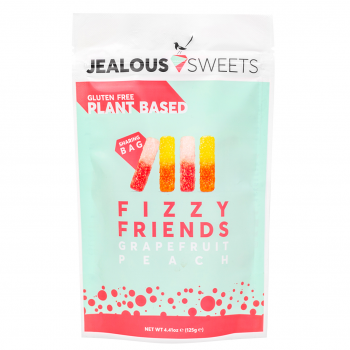 Jealous Sweets Vegan Fruit Gum Fizzy Friends 125 g