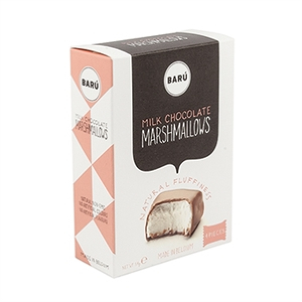 Barú Milk Chocolate Marshmallows 120 g