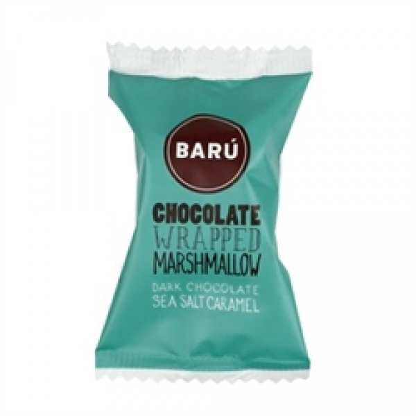 "Barú Marshmallow Dark Chocolate ""Sea Salt Caramel"" Einzel 15 g"